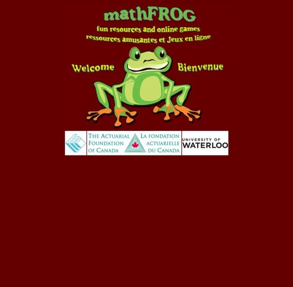 MathFROG - Fun Resources & Online Games