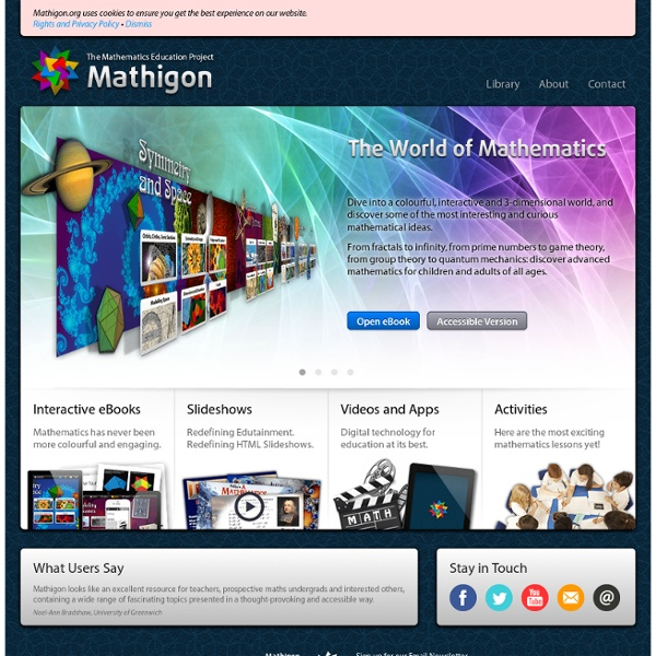 The Mathematics Education Project