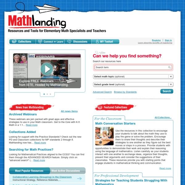 Mathlanding.org