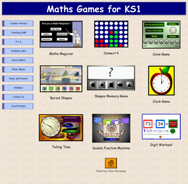 Maths Games for KS1
