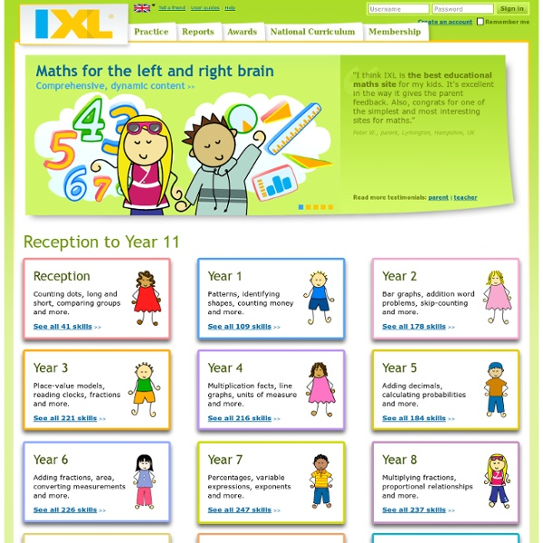 Online maths practice and lessons