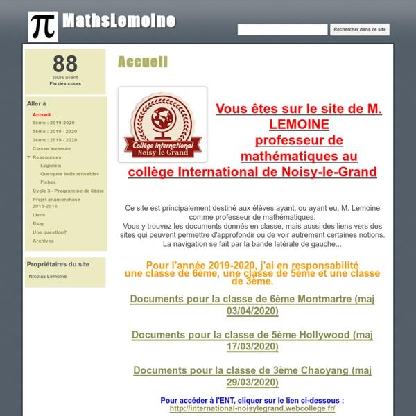 MathsLemoine