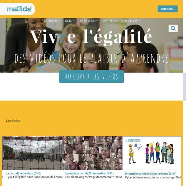 Matilda - Des vidéos contre le sexisme