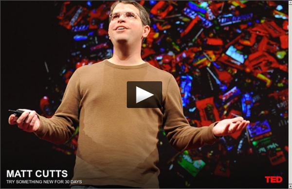 Matt Cutts: Essayez quelque chose de nouveau pendant 30 jours