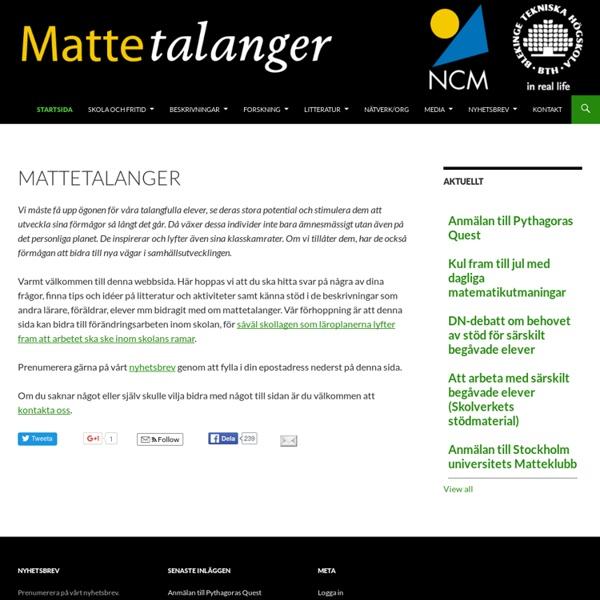Mattetalanger