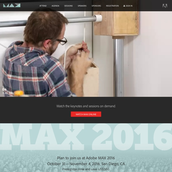 MAX — The Creativity Conference