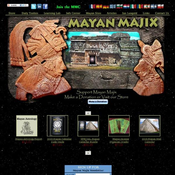 Mayan Majix - Ian Xel Lungold - Mayan Astrology