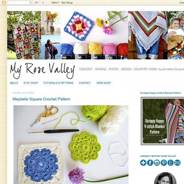 Maybelle Square Crochet Pattern Pearltrees