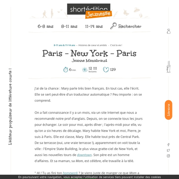 Paris - New York - Paris - Jeanne Mazabraud