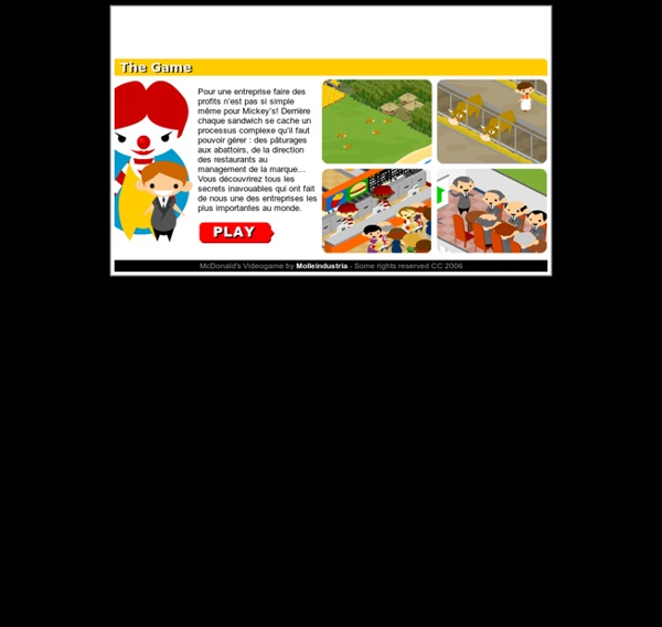 McDonald's Video Game : Gestion des processus
