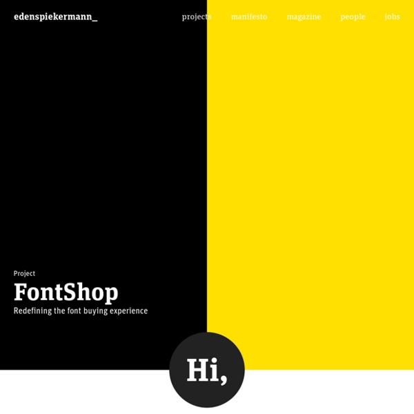 We design brand experiences - Edenspiekermann