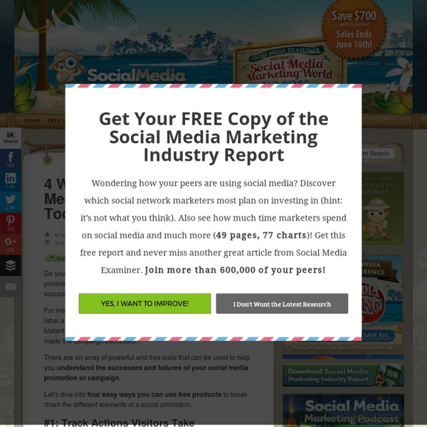 4 Ways to Measure Social Media Success With Free Tools