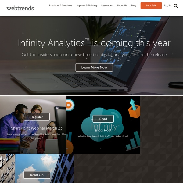 Website Measurement & Analytics