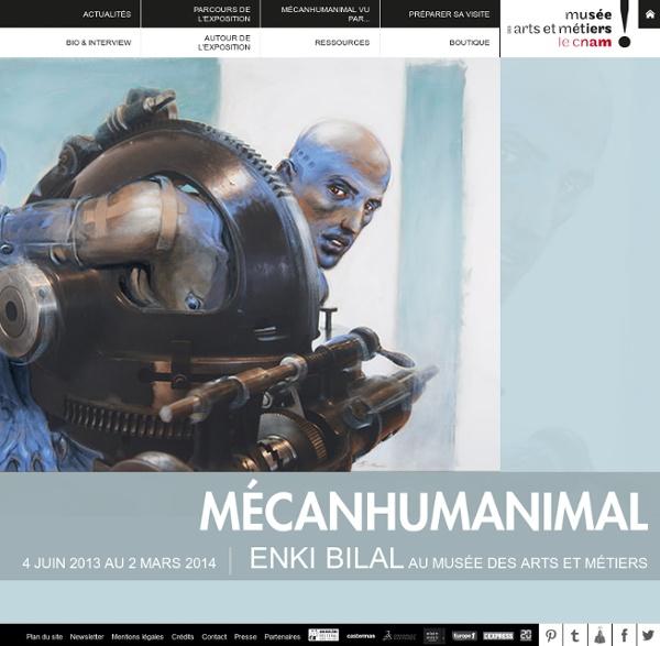 [EXPO] Mécanhumanimal, Enki Bilal au Musée des arts et métiers