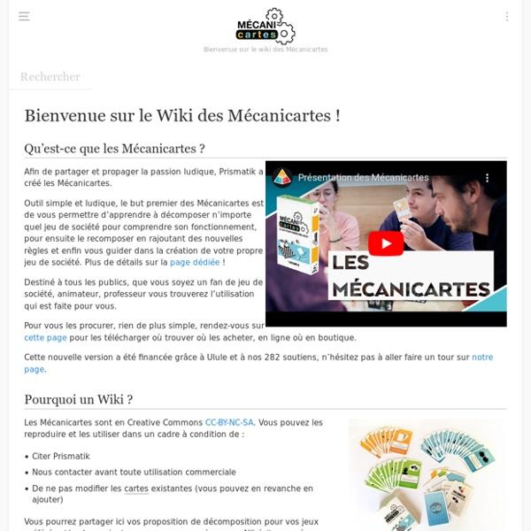 Mécanicartes - Wiki