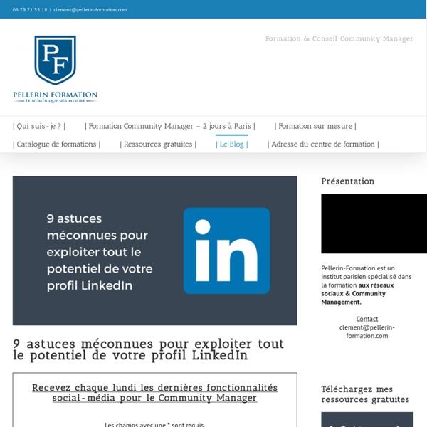 9 astuces méconnues pour exploiter tout le potentiel de votre profil LinkedIn
