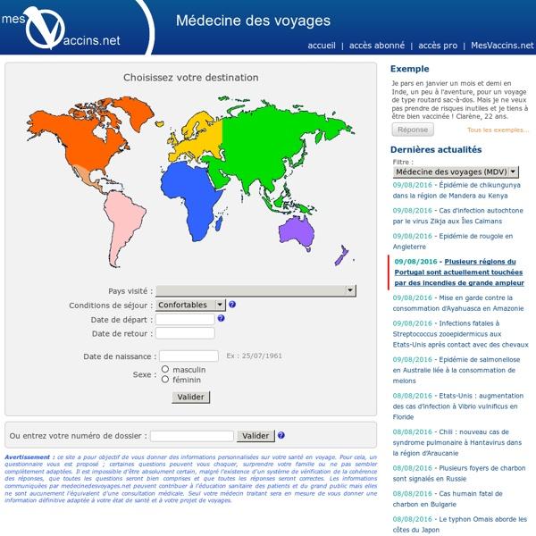 Médecine Voyages