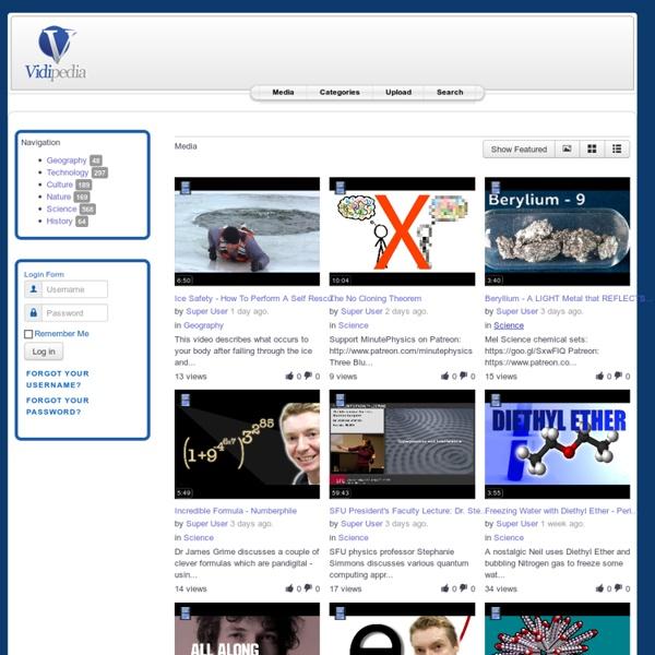 Vidipedia - The Video Encyclopedia