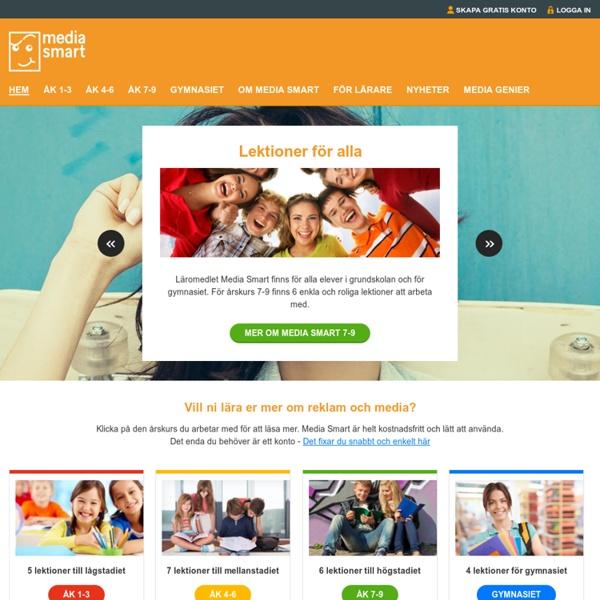 Media Smart - Utbildar morgondagens smartaste konsumenter!