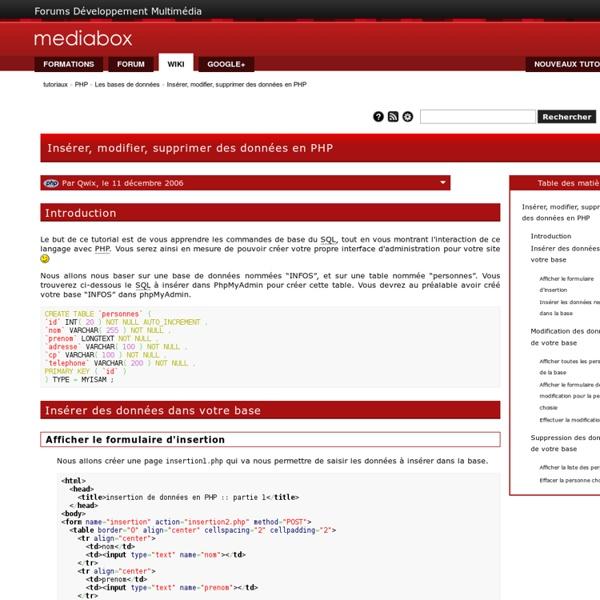 Mediabox - Centre de Formation Adobe et Apple - Wiki