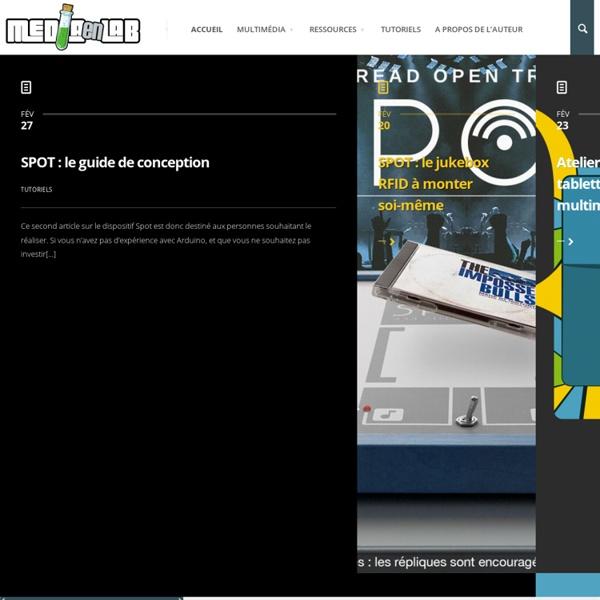 Mediaenlab Médiations numériques en médiathèque