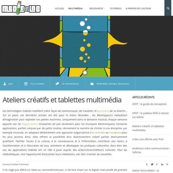 Médiations numériques en médiathèque