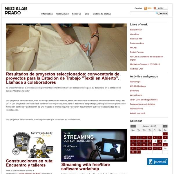 Medialab-Prado Madrid