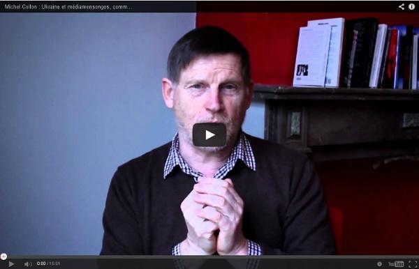 Michel Collon : Ukraine et médiamensonges, comment ne pas se faire manipuler ?