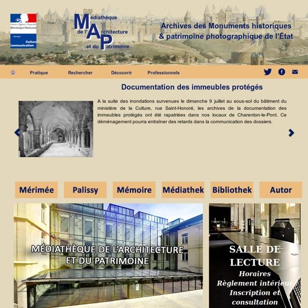 Médiathèque de l'architecture et du patrimoine