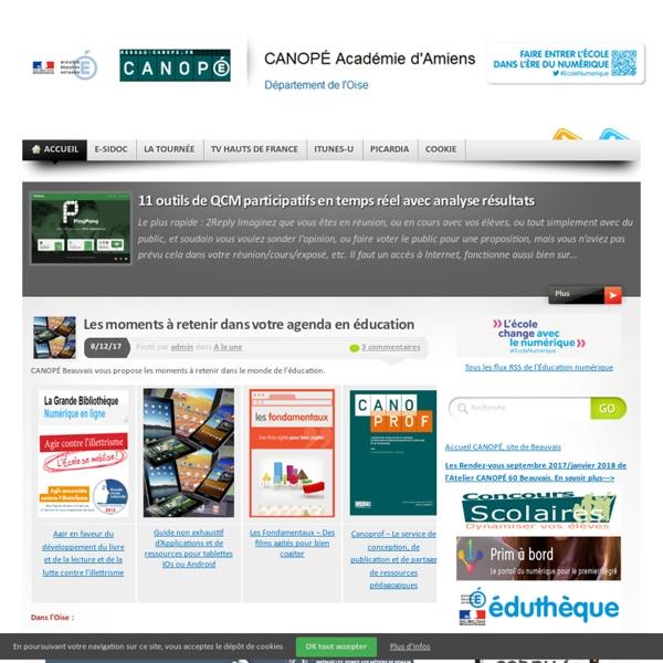 Blog de la médiathèque du réseau CANOPÉ - site de Beauvais
