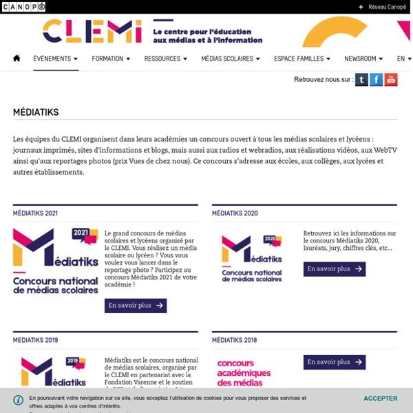 Médiatiks- CLEMI