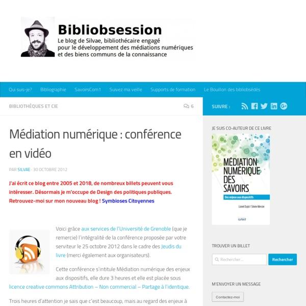Médiation numérique : conférence en vidéo