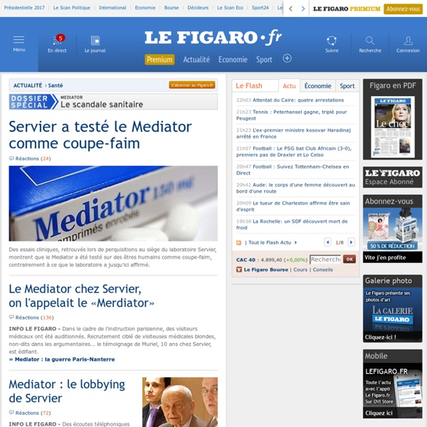 Mediator, le scandale sanitaire