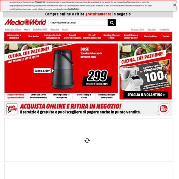 Media World - Elettronica, Informatica, Tecnologia e Elettrodomestici