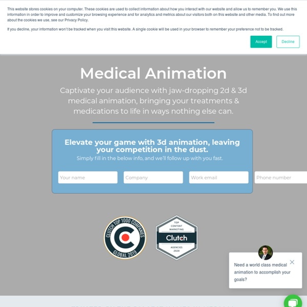 High-End Medical Animation & Video Production
