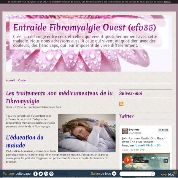 Les traitements non médicamenteux de la Fibromyalgie