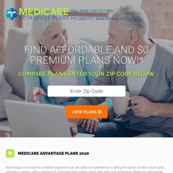 Medicare Advantage Plans 2020 - Compare New Plans