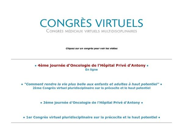Congrès Médicaux virtuels multidisciplinaire