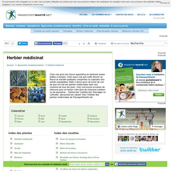 PasseportSanté.net: Plantes médicinales – Recettes – Cueillette