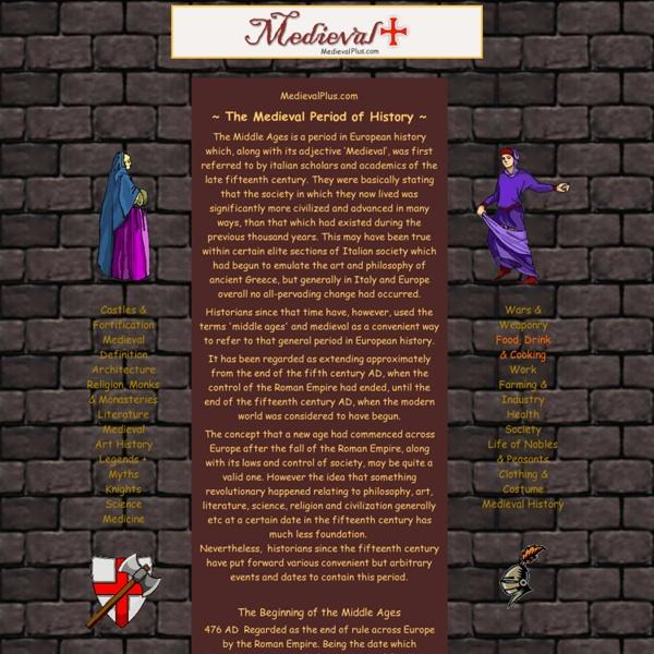 Medieval History, Castles