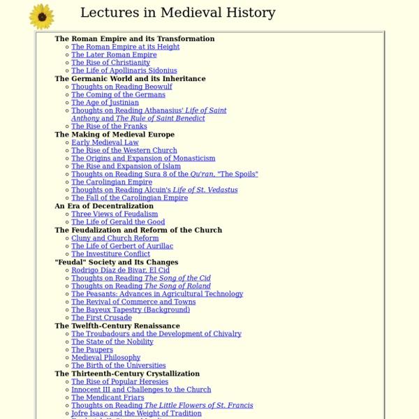 Professor Emeritus, Medieval History, University of Kansas