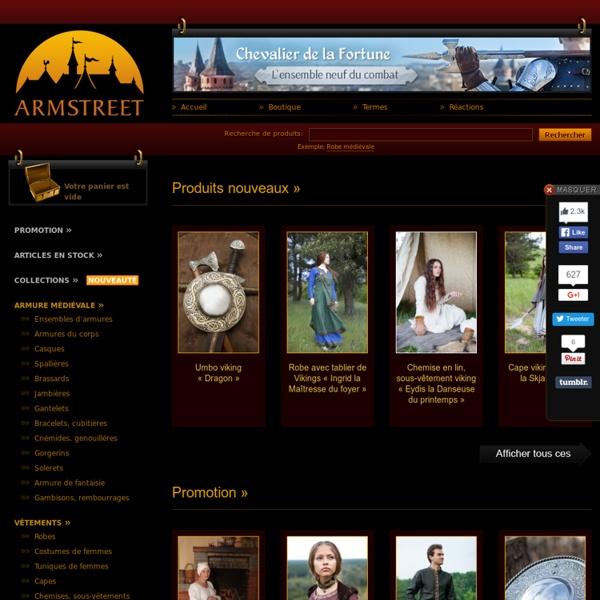 ArmStreet [Boutique médiévale]