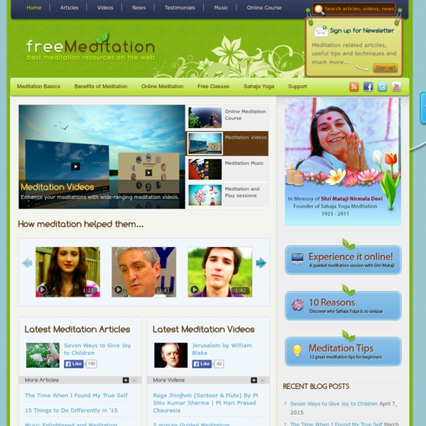 Learn how to meditate and enjoy the benefits!