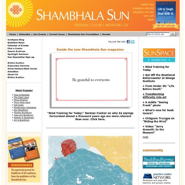 Shambala Sun Magazine