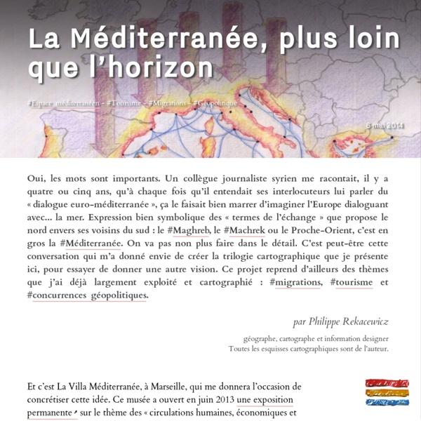 La Méditerranée, plus loin que l'horizon