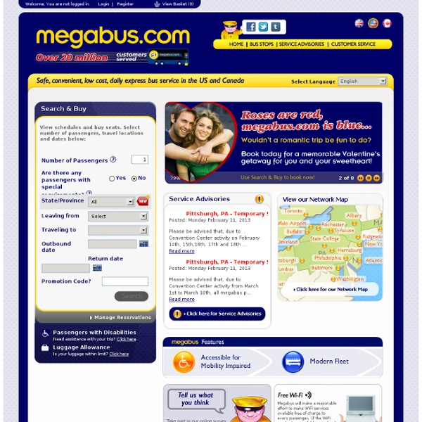 Now serving over 20 million bus customers in North America