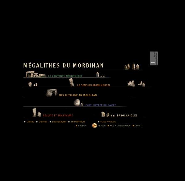 Mégalithes du Morbihan