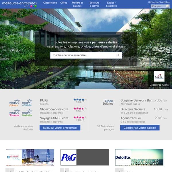 Meilleures-entreprises.com - Meilleures Entreprises: Avis et salaires sur toutes les entreprises
