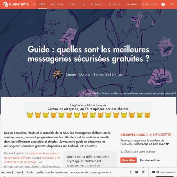 Guide : quelles sont les meilleures messageries sécurisées gratuites ? - Tech