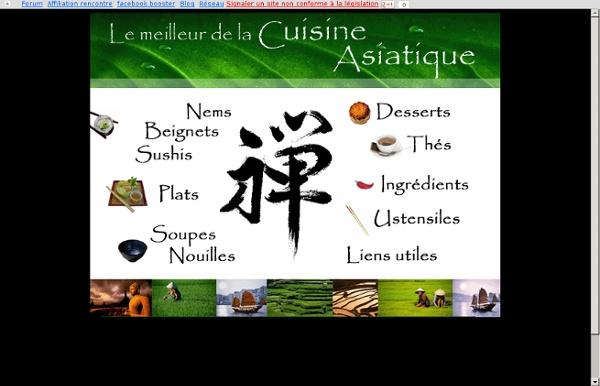 Les meilleures recettes de la cuisine asiatique - Nom de domaine gratuit redirigé par New.fr